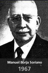 Fallecimiento Manuel Borja Soriano 1967 Juristas Unam