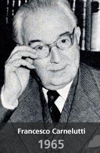 Resultado de imagem para jurista FRancesco Carnelutti